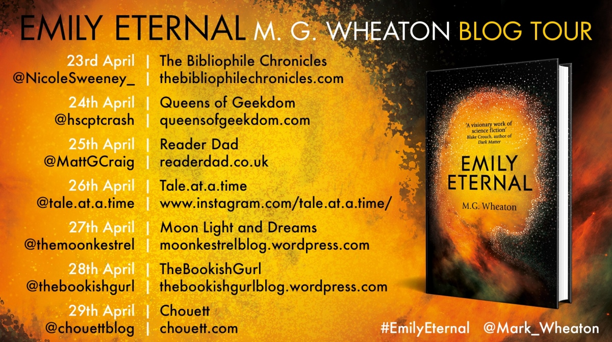 Emily Eternal by M G Wheaton
