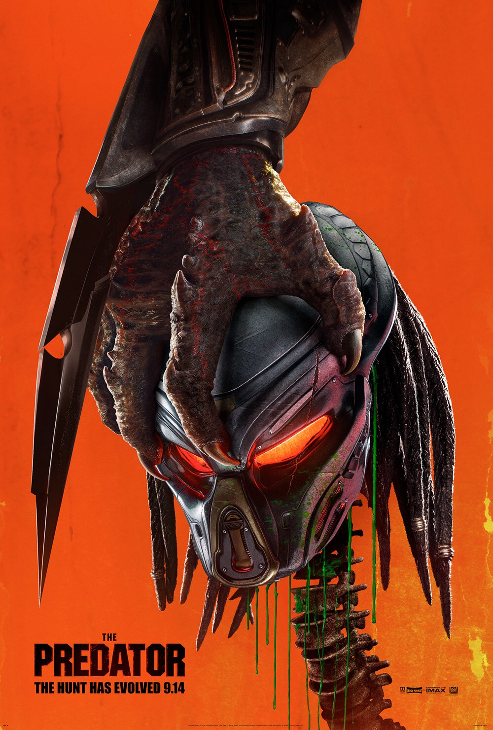 The Predator (2018) spoilers within