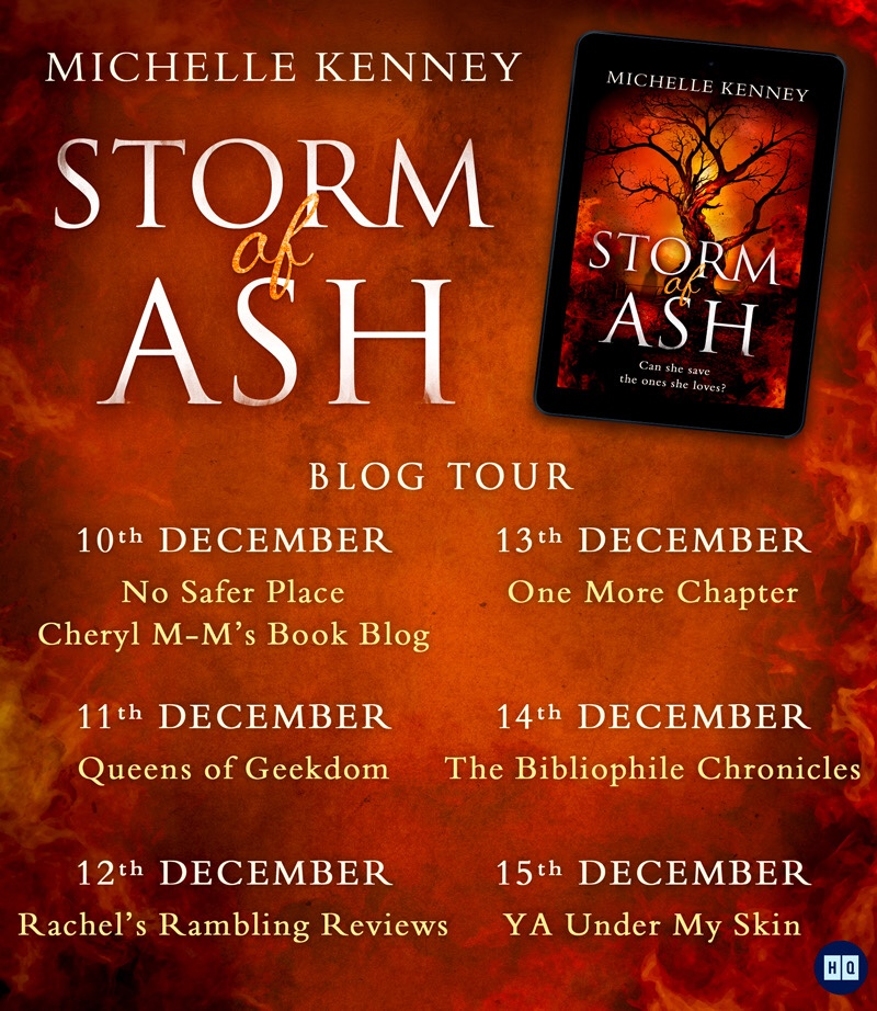 Blog Tour Review: Storm of Ash by Michelle Kenney