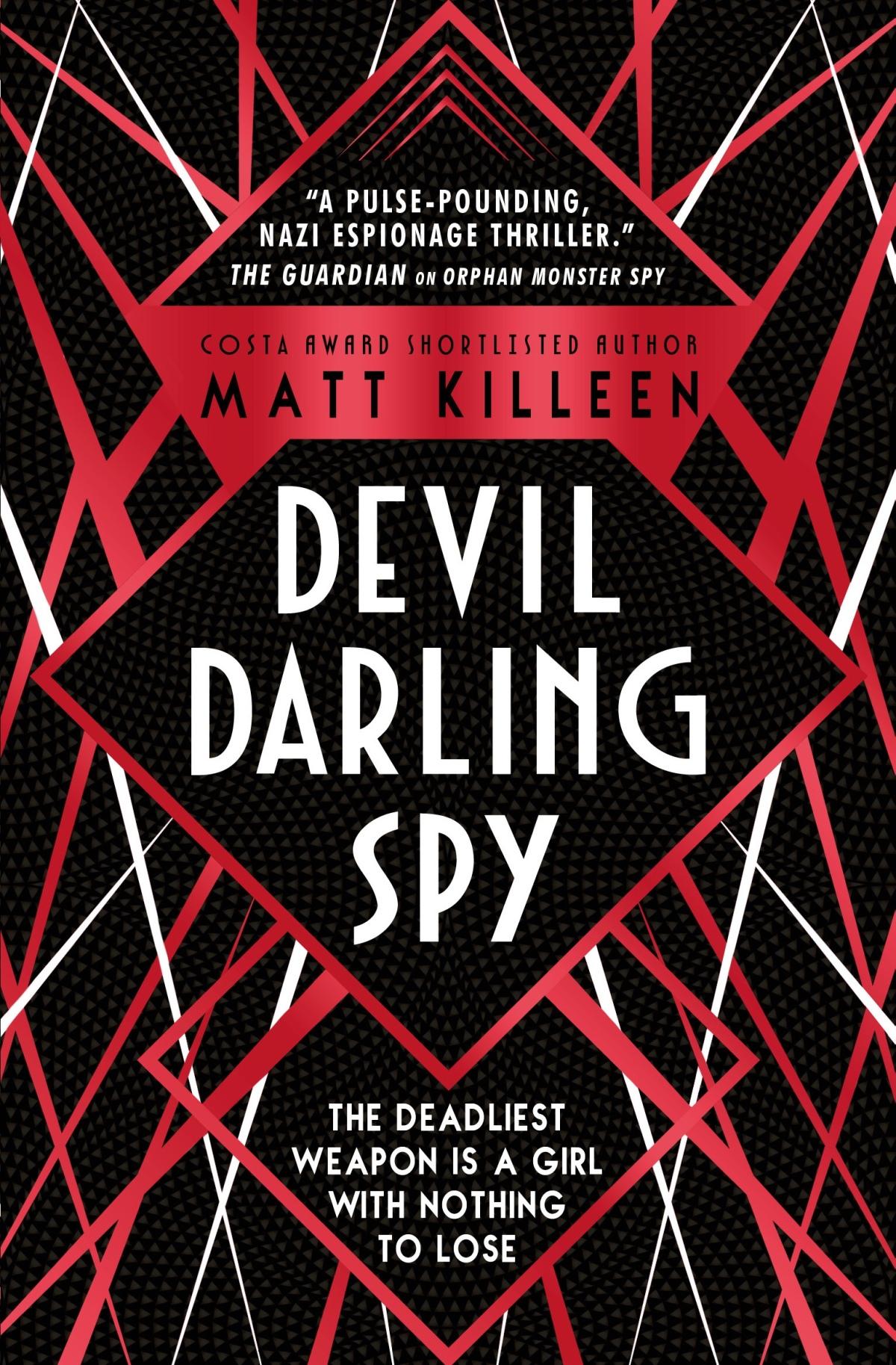Blog Tour Review: Devil Darling Spy by MattKilleen