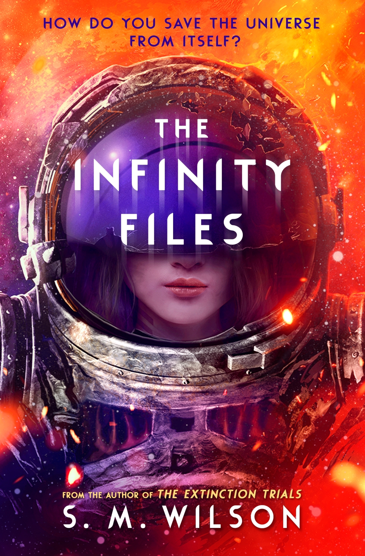 Infinity Files Blog Tour Q&A with S. M. Wilson